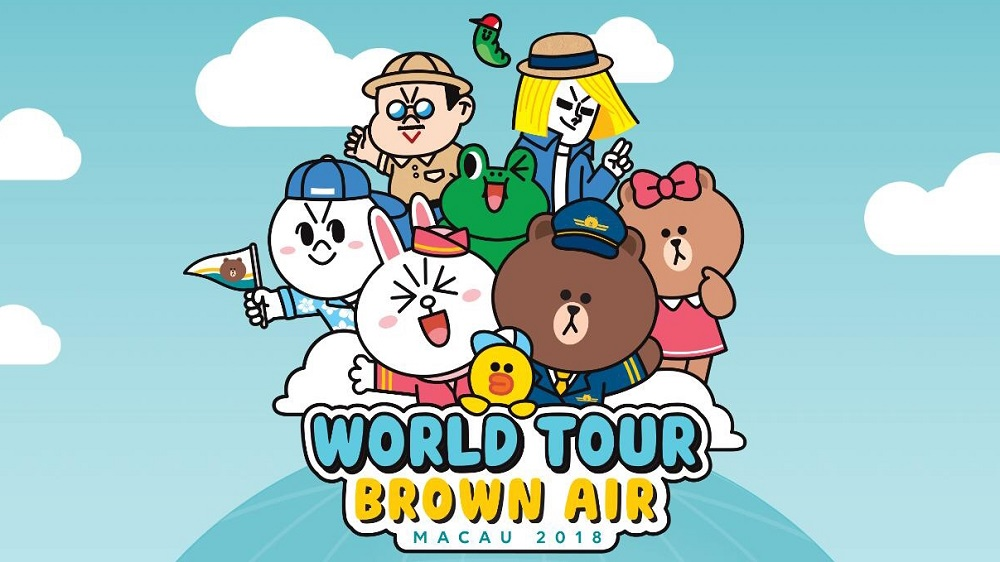 新濠影滙-《LINE FRIENDS WORLD TOUR MACAU 2018》展覽門票|LINE FRIENDS WORLD TOUR MACAU 2018》展覽門票預訂
